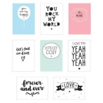 Poster Lightbox Sheets: LOVE – A Little Lovely Company