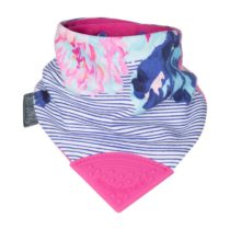 Bavaglino Dentizione – Joules Flowers & Stripes – Cheeky Chompers