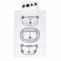 Copripiumino Letto Singolo – Duvet Cover Roar – A Little Lovely Company
