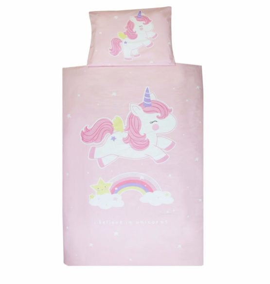Copripiumino Letto Singolo – Duvet Cover Unicorn – A Little Lovely Company
