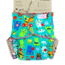 Fitted Taglia Unica (Snaps)  Monsters – Petit Lulu