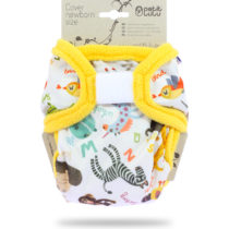 Cover Newborn (Velcro) Animal Alphabet – Petit Lulu