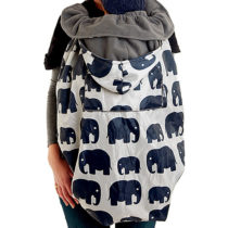 Cover Babywearing – Grey Elephant – BundleBean