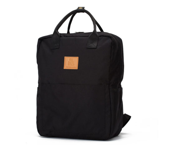 Zaino Master Eco Recycled Black – My Bag's